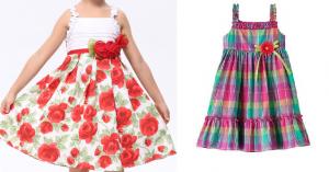Fiz o esquema de modelagem deste vestidinho do 1 ao 14.