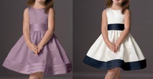 Vestido de festa com recorte princesa no 1 ao 14 anos.