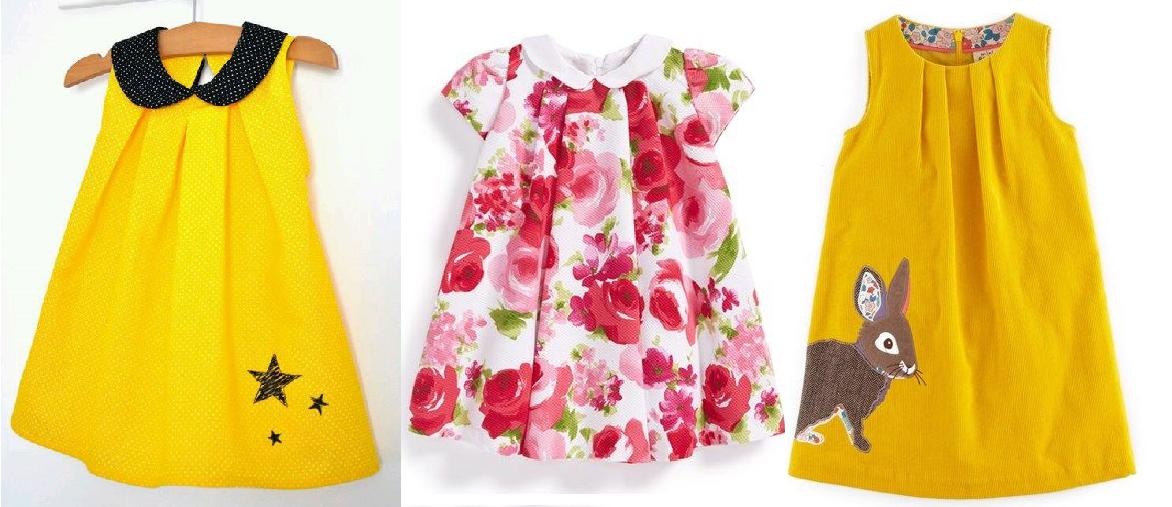 Este vestidinho pode ser feito com ou sem manga. Com ou sem gola. Fiz esquema de modelagem para crianças de 3 meses a 14 anos.