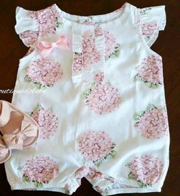 Boddy para menina com babado na cava. Fiz esquema de modelagem para tecido plano para crianças de 1 a 24 meses.