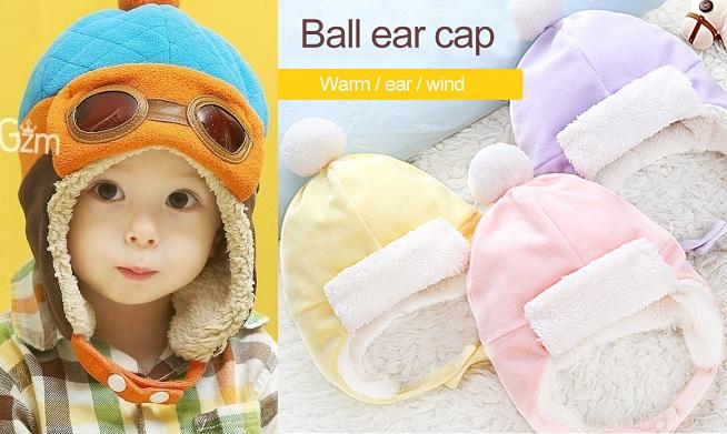 942b8198c2818 Esquema de modelagem de gorro aviador para bebês de o a 9 meses e crianças  de 1 a 14 anos.